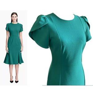 Calvin Klein teal dress size 6....NWT